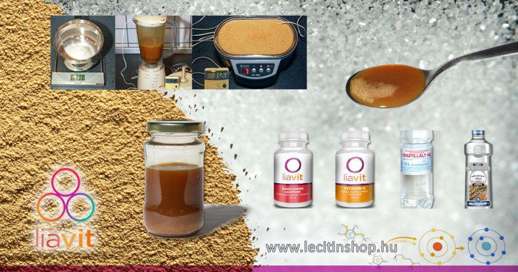 liposzómális c-vitamin házilag